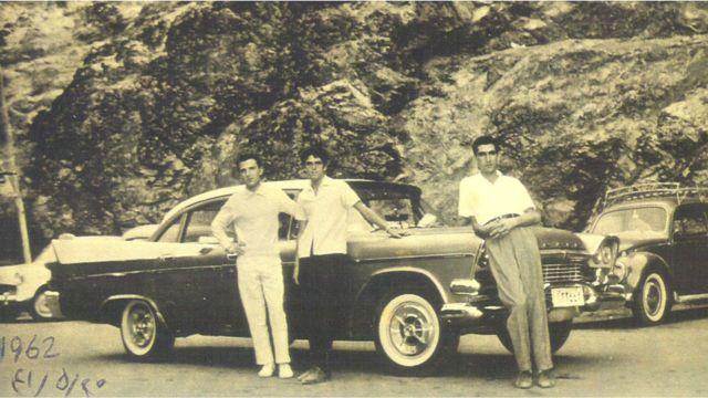 گردشی با داج کرونت، دربند ۱۹۶۲