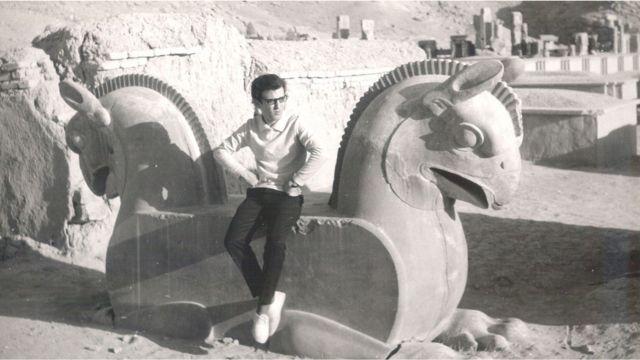بازدید از تخت جمشید و پرسپولیس ۱۹۶۲