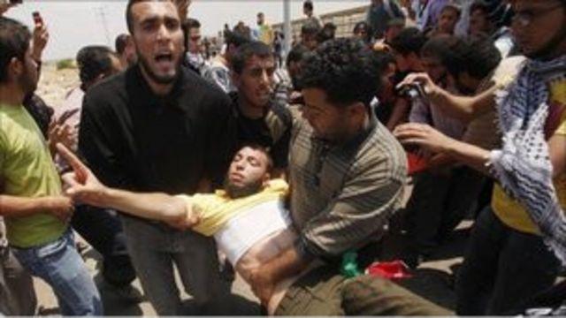 巴勒斯坦抗議者
