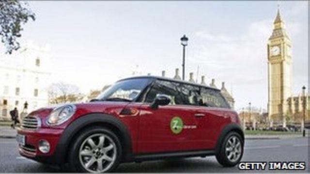 Auto de Zipcar