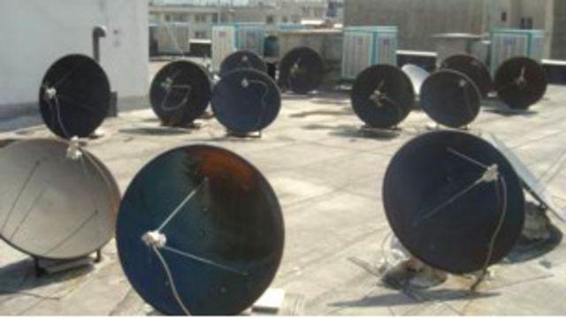 دیش ماهواره ای در ایران