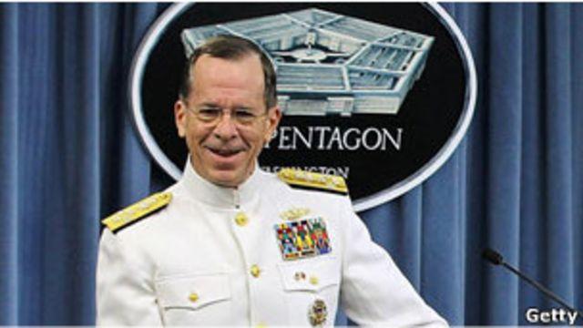 美軍參謀聯席會主席馬倫(18/05/2011)