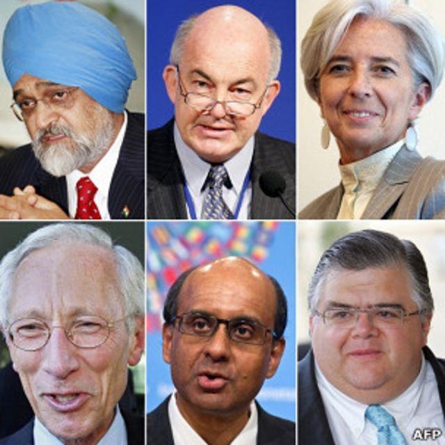 IMF總裁潛在繼任人