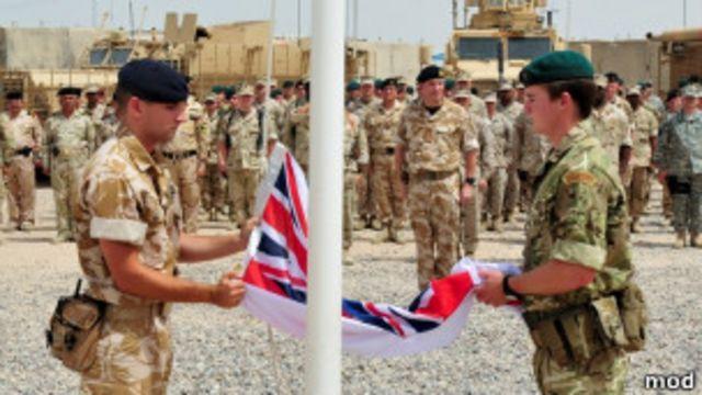 英軍結束伊拉克行動