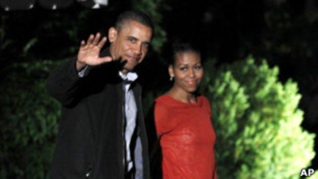 奧巴馬夫婦(22/05/2011)