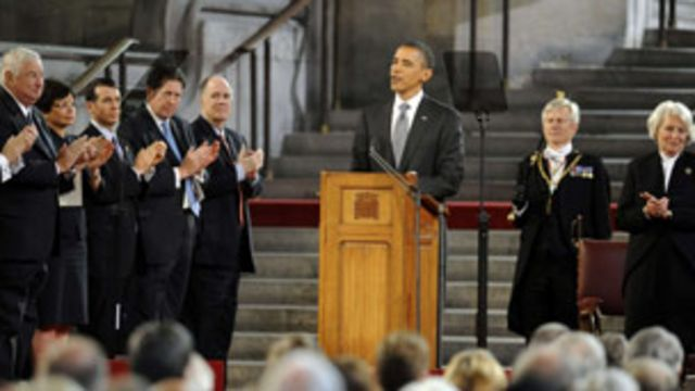 奧巴馬講話
