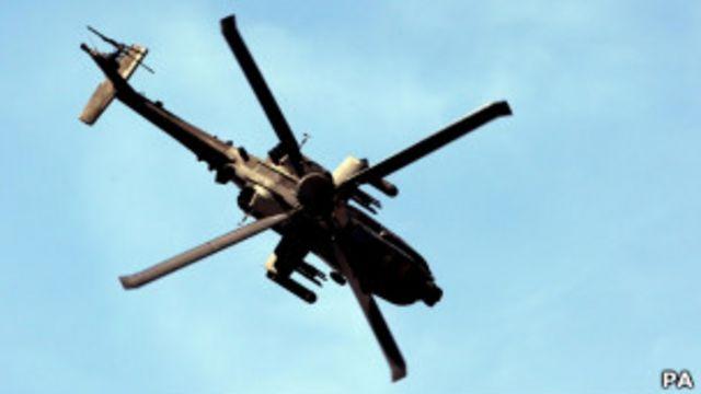 阿帕奇直升機