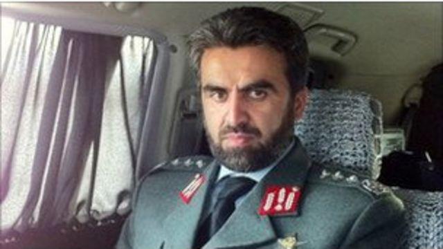 阿富汗警察首腦