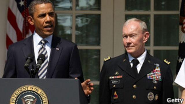 登普西在伊拉克和阿富汗都有作戰和指揮經驗。