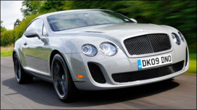 Bentley Continental Super Sport (ảnh minh họa) bán tại Ấn Độ với giá 575 ngàn USD.