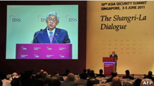 菲律賓國防部官員在新加坡香格里拉對話會發表講話