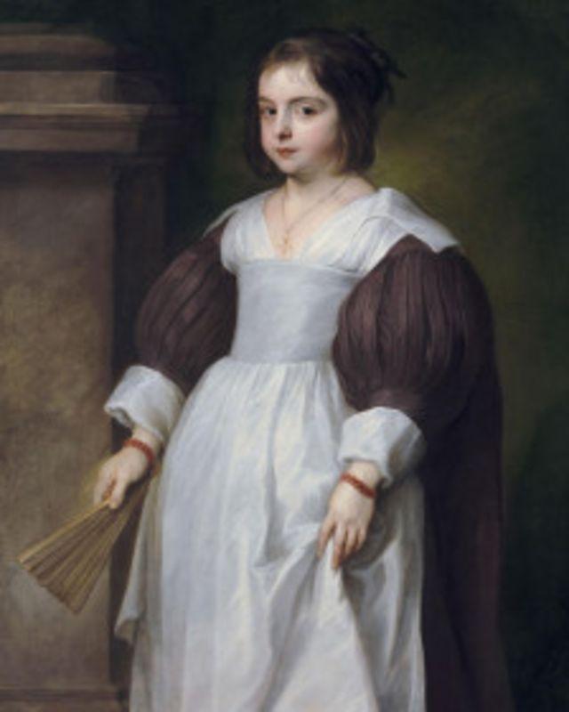 لوحة بورترية فتاة للرسام فان دايك