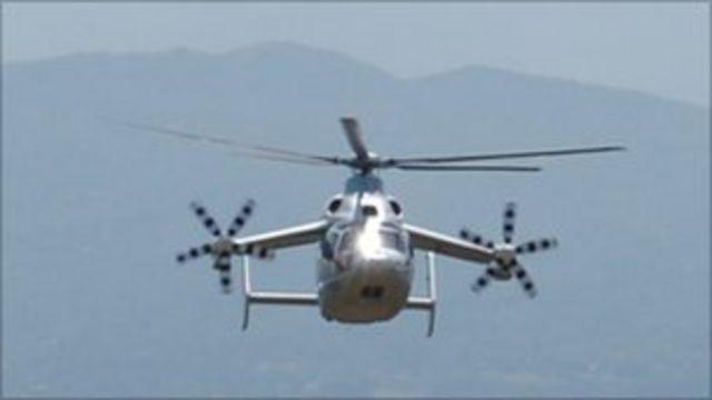 El Helicóptero Con Alas Que Promete Cambiar La Industria De La Aviación Bbc News Mundo