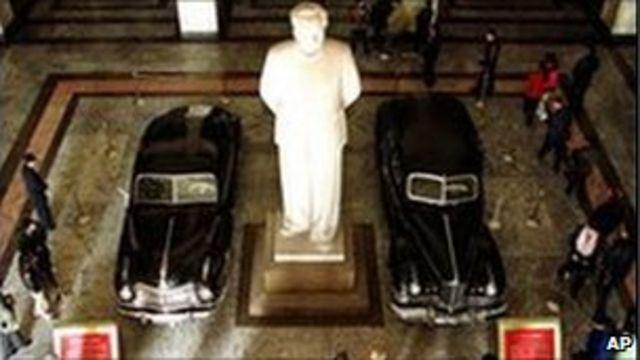 Mao Zedong heykeli