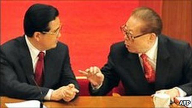 Jiang Zemin ve Hu Jintao