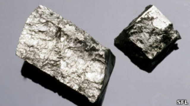 Los minerales raros son claves para la producción de artículos de alta tecnología y de energías renovables.