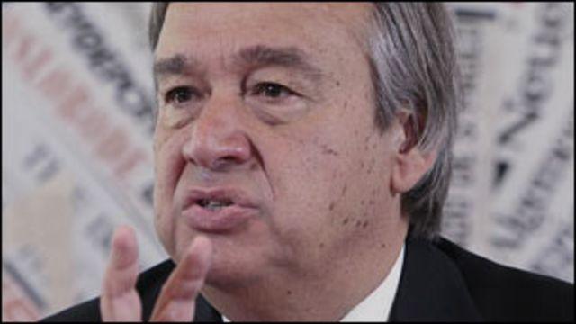 Umukuru wa HCR, Antonio Guterres