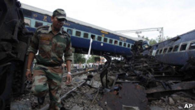 印度火車出軌
