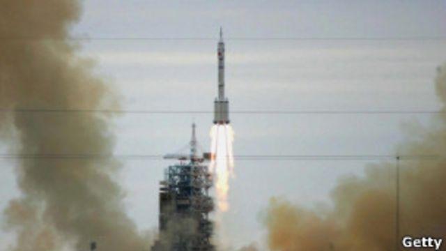 中國衛星發射