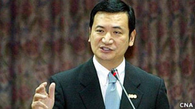 台灣新聞局長楊永明(台灣中央社圖片5/5/2011)