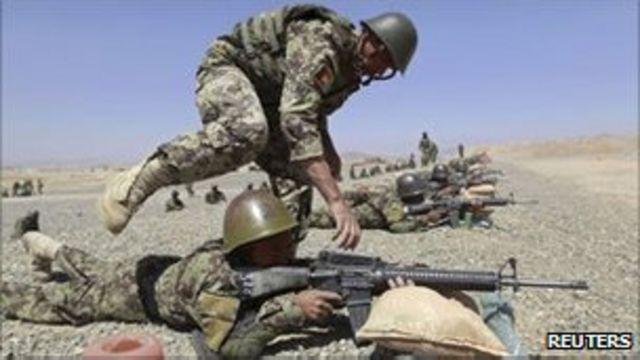阿富汗部隊