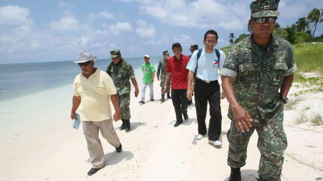 Letjen Juancho Sabban di Pulau Thitu