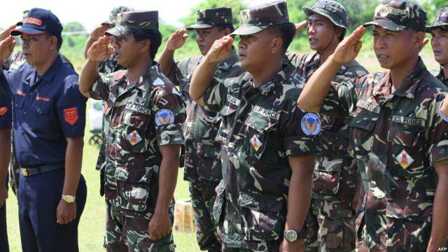 Tentara yang ditugaskan di Pulau Thitu