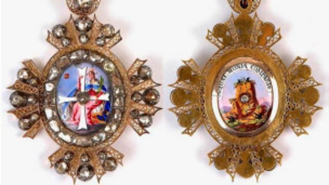 Знаки ордена Святой Екатерины
