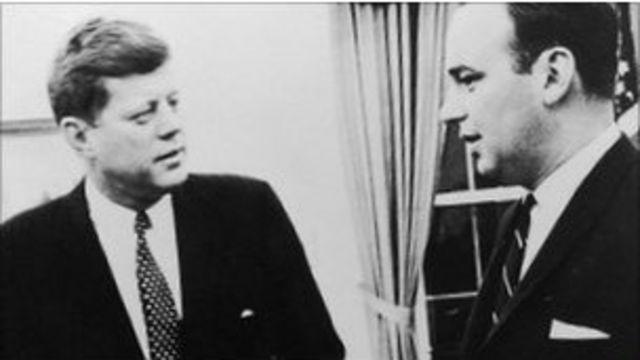 Джон Кеннеди и Руперт Мердок