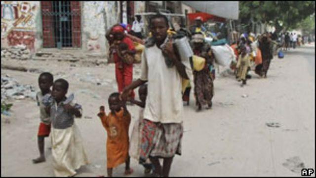 Hambruna en Somalia