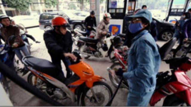 Trạm xăng ở Hà Nội
