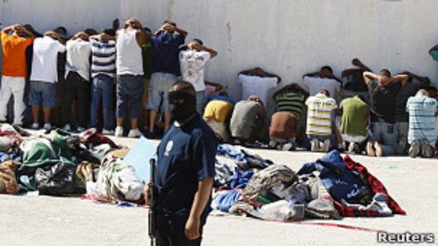 Prisión en Ciudad Juárez, México