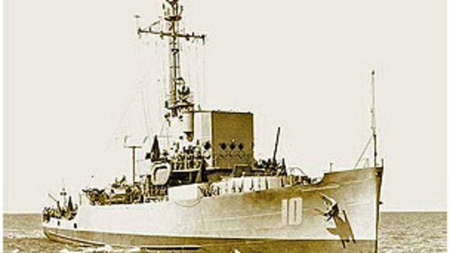 Chiến hạm Nhật Tảo của VNCH đã tham gia bảo vệ Hoàng Sa