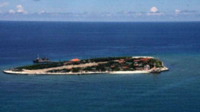 Một đảo ở vùng Trường Sa mà Trung Quốc gọi là Nam Sa