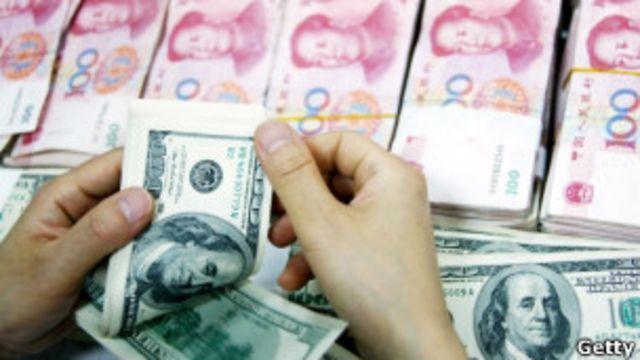 美元與人民幣