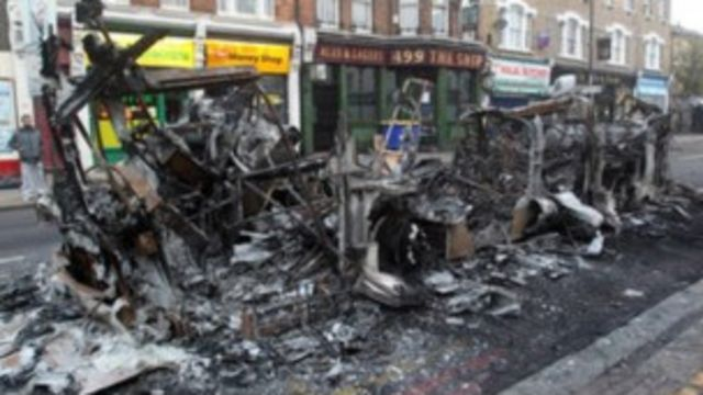 Disturbios en Londres