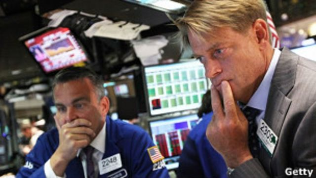 紐約股市狂跌