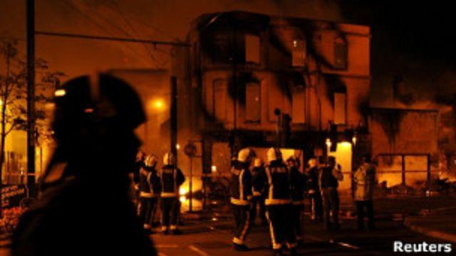 Пожар в Кройдоне