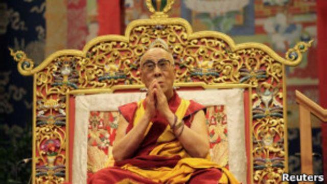 達賴喇嘛在法國城市圖盧茲
