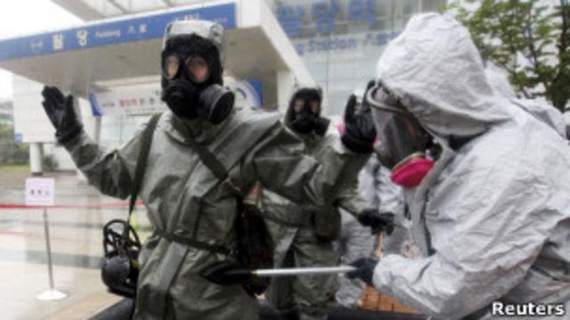 反化學戰演習