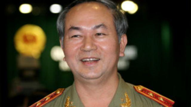 Tướng Trần Đại Quang là một trong hai lãnh đạo cao nhất của ngành công an trong Bộ Chính trị