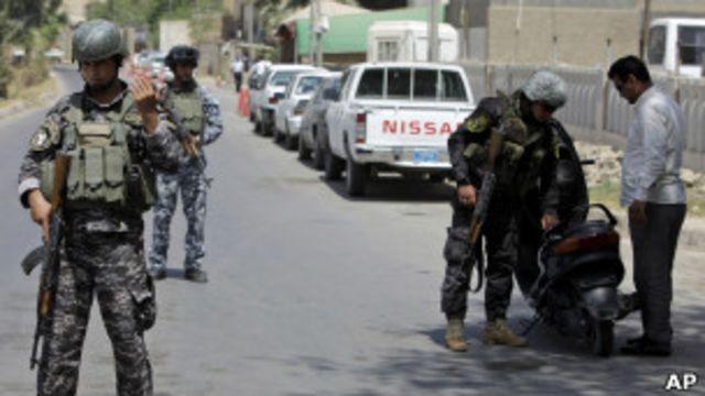 Блокпост в Багдаде