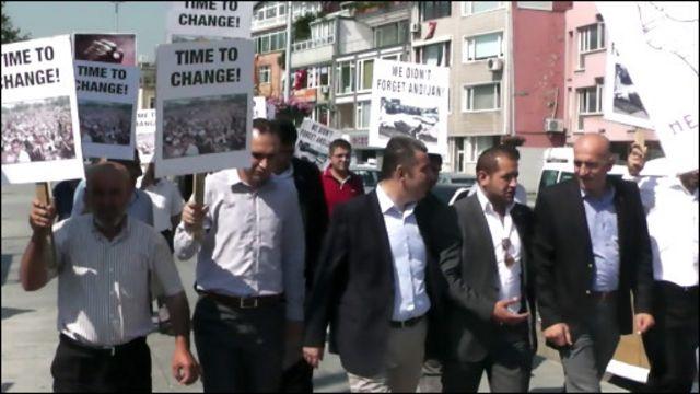 Истанбулдаги норозилик чиқиши