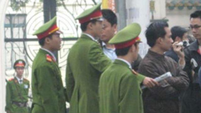 Các cuộc biểu tình năm 2007 sau đó bị chính quyền ngăn chặn