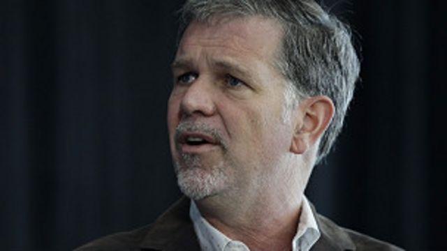 Reed Hastngs, presidente de Netflix