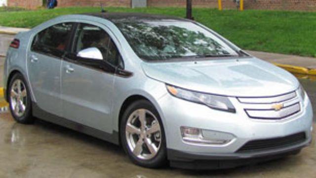 全球首款增程型電動車雪佛蘭Volt沃藍達