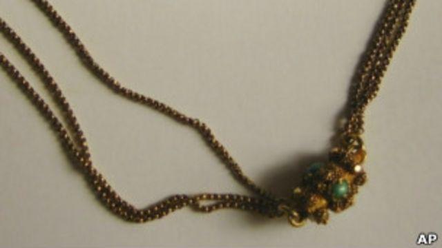 """позолоченное ожерелье пассажирки """"Титаника"""""""