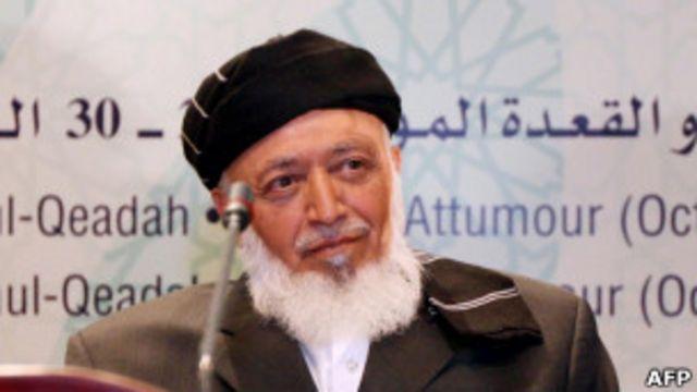 Раббани выступает в Иране