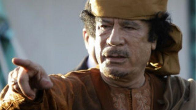 L'ex dirigeant libyen