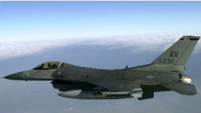 F-16CD型戰鬥機